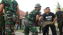 Strategi Prajurit Hasanuddin Bikin Masyarakat Tersenyum