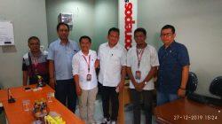 Pimpinan DPRD Bone Berkunjung di Redaksi Bonepos