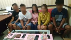 Diduga Pesta Sabu, 3 Pria dan 2 Wanita di Palopo Diamankan Polisi