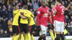Man United Vs Watford : Setan Merah Unggul 3-0