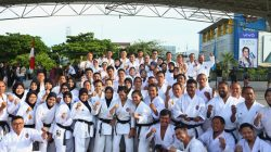 Wejangan Pj Wali Kota Makassar untuk Calon Karateka Dunia