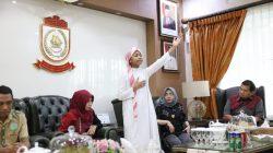 Nabily Beri Pencerahan di Depan Pj Wali Kota Makassar
