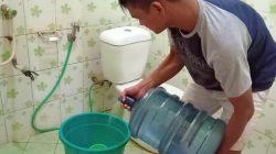 Malam-malam, Begini Penampakan PDAM Lutim Salurkan Air Bersih