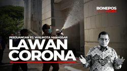 VIDEO: Perjuangan Pj Walikota Makassar Lawan Corona