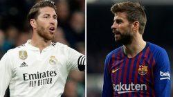 El Clasico Berakhir : Gerard Pique dan Sergio Ramos Saling Sindir
