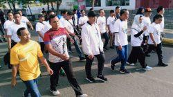 Ramaikan Jalan Sehat KNPI, Dandim Palopo: Ayo Hidup Sehat