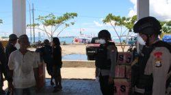 Brimob Bone Sasar Pasar Ikan Bajoe, Apa Targetnya?