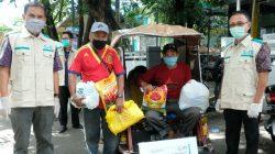 Aksi PLN Sulselrabar Bahagiakan Kaum Duafa di Tengah Pandemi Covid-19