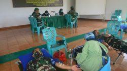 Personel TNI di Bone Bantu Ketersediaan Darah di Tengah Pandemi Covid-19