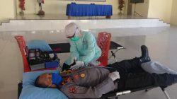 Polres Luwu Utara Donor Darah di Tengah Pandemi Covid-19