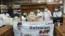 """Akmal Pasluddin """"Suntik"""" APD RSUD Tenriawaru dan Kecamatan di Bone"""