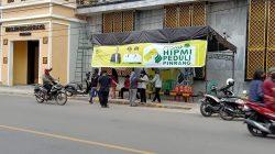 Kontribusi Nyata HIPMI Pinrang Melawan Virus Corona