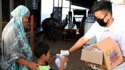 """Paket """"Cinta"""" Poltek KP Bone Ringankan Beban Masyarakat di Tengah Pandemi"""