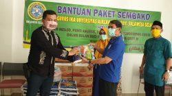 Paket Cinta ala IKA Unair Wilayah Sulsel untuk Warga Terdampak Corona