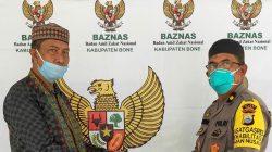 Personel Polres Bone Kompak Berzakat di Baznas, Segini Disetorkan