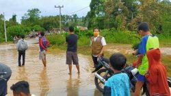 Banjir Terjang Sawah, 3,5 Hektare Terancam Gagal Panen