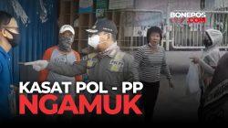 VIDEO: Kasatpol PP Kota Makassar Mengamuk, Pria Berbadan Kekar Kena Bogem Mentah