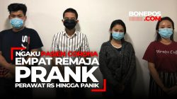 VIDEO: Ngaku Pasien Corona, Empat Remaja Prank Perawat Rumah Sakit