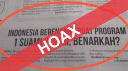 [CEK FAKTA] Indonesia Berencana Buat Program 1 Suami 2 Istri, Begini Faktanya