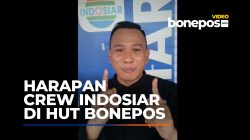 Ini Harapan Crew Indosiar di HUT Bonepos