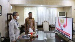 Hari Lahir Pancasila, Pj Wali Kota Makassar Yusran Vicon Bersama Presiden RI, Ini Pesannya