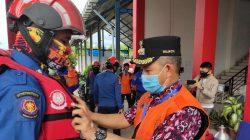 Pesan Khusus Pj Wali Kota Yusran bagi Tim Rescue Korban Banjir Bantaeng