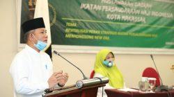 Pj Wali Kota Yusran Gandeng IPHI Hadapi Covid-19