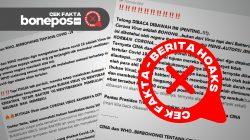 [CEK FAKTA] Dokter di Italia Sebut Bakteri Adalah Penyebab Kematian Covid-19, Benarkah?