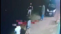 Ngeri, Peristiwa Pembunuhan di Bone Terekam Kamera CCTV