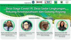 Rektor Unismuh Berbagi Ilmu Pada Serial e-Bintech Kampus Desa Indonesia