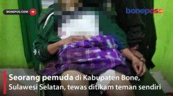 Terungkap, 4 Tersangka Pembunuhan Terekam CCTV di Bone