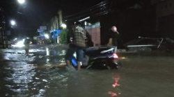 Kasihan, Kendaraan Warga Mogok Terendam Banjir
