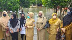 Kadisdik Syamsiar Lihat Langsung Sekolah Dilanda Banjir