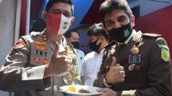 Cie, Kapolres Try Beri Kejutan Kajari Eri di Hari Bhakti Adhyaksa Ke-60 Tahun