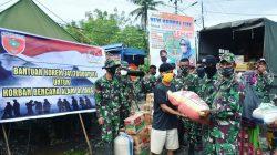 Bentuk Cinta Danrem Toddopuli untuk Korban Banjir Bandang di Luwu Utara