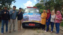 DPC HIPPMAS Tellulimpoe Galang Donasi Korban di Daerah Pelosok