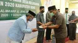 Guru Mengaji dan Imam Desa di Bone Dapat Insentif Rp2,3 Miliar