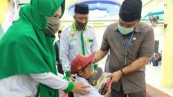 Baznas Bone Hadiahi Anak Nurdin, Bupati Fahsar Rogoh Kocek Dalam-dalam