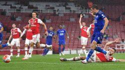 Jalannya Pertandingan Duel Arsenaldan Leicester City