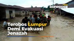 Penuh Perjuangan, Begini Proses Evakuasi Jenazah Korban Banjir Bandang di Luwu Utara