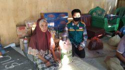 Cara WIZ dan Wahdah Peduli Korban Kebakaran di Kajuara Bone