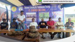 Legislator dan Kades Sinjai Belajar Budi Daya Porang di Sidrap