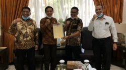 Berikan Aset ke Pemkot, Totalitas GMTD Pacu Pelebaran Jalan Metro Tanjung Bunga