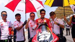 Andi Gilang Pembalap Bulukumba Terlibat Kecelakaan Balapan Moto2 Austria 2020