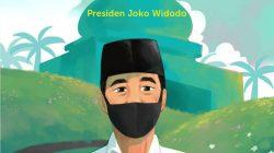 Pesan Tahun Baru Islam 1442 H, Presiden Jokowi: Tekad Behijrah!