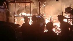 Drama Evakuasi Korban Kebakaran di Desa Ancu Kajuara, Begini Kondisinya