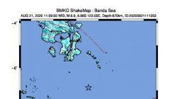 Warga Rasakan Getaran Saat Gempa M6,9 Terjadi, Ini Lokasinya