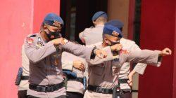 Enggan Kecolongan di Pilkada, Brimob Yon C Latihan Huru Hara