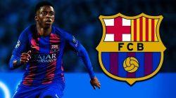 Hore, Dembele Masuk Skuad Barcelona vs Bayern