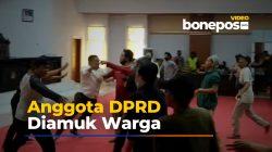 Video: Detik-detik Anggota DPRD di Lutra Diamuk Warga